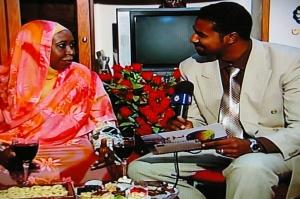 Naised Sudaani teles