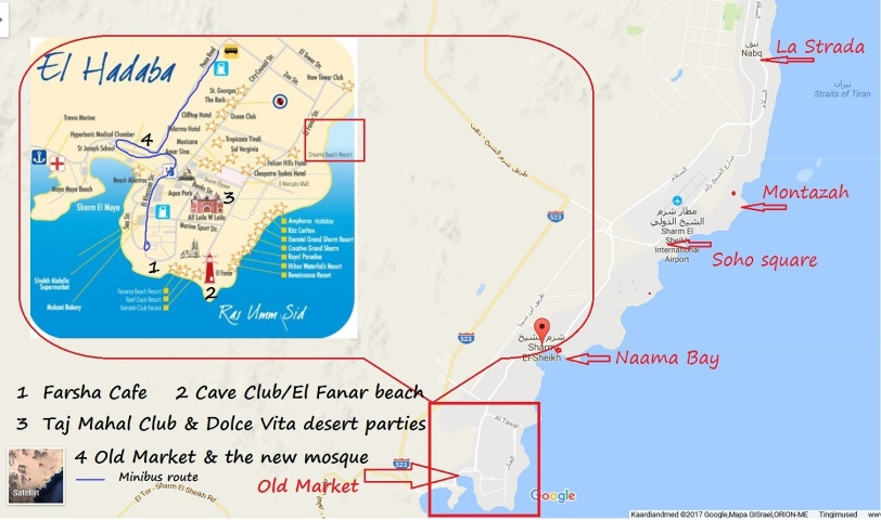 map sharm hadaba inset